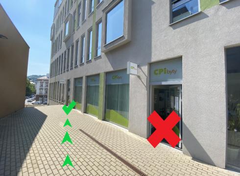 Změna provozu pobočky v Ústí nad Labem z důvodu rekonstrukce